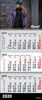 Квартальный календарь 2021 1 рекламное поле